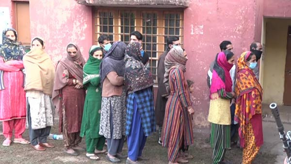 5th phase of DDC Polls voting in Jammu Kashmir begins