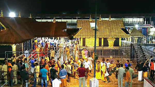 Maharavilaku Puja at Sabarimala: Devotees are not allowed to stay in huts on Maharajothi dharisanam