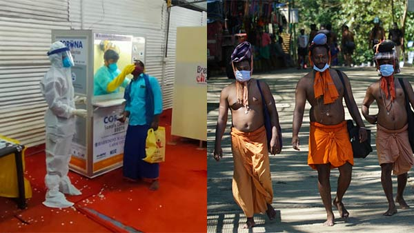Corona spreading in Sabarimala - Additional control for employees