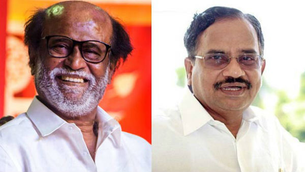 Tamilaruvi Manian says that some forces are trying to separate me from Rajinikanth