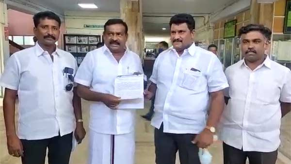 DMK condemn for Voters list is printed in hindi and english