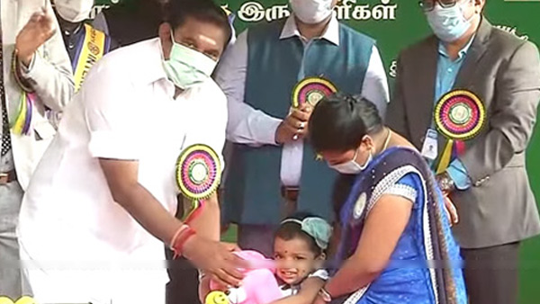 Polio vaccination camp in Tamil Nadu today: Give compulsion to your children