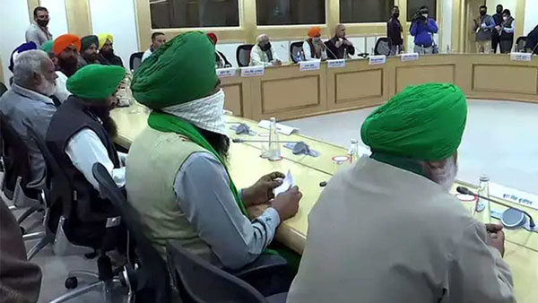 Centre Postpones 10th Round of Talks with Farmers to tomorrow