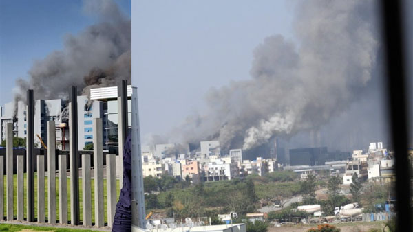 Fire breaks out at Terminal 1 gate of Serum Institute of India in Pune