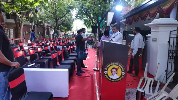 MK Stalin to meet press in Gopalapuram tomorrow