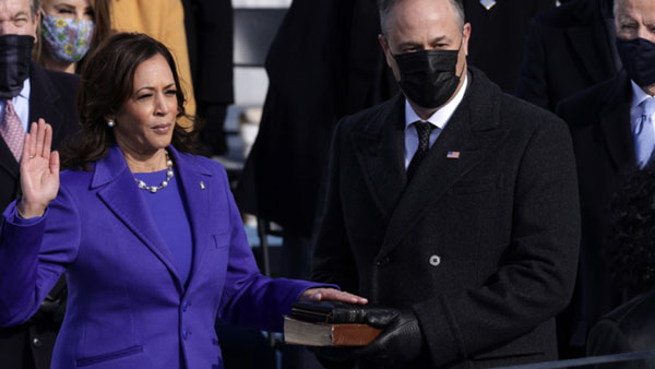 Kamala harris becomes Deputy President of the United States
