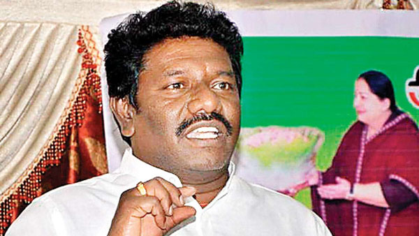 Karunas MLA said that 25 per cent reservation should be given to the mukkulathor community