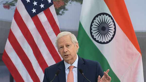 U.S. Ambassador to India Kenneth I. Juster gave a farewell address