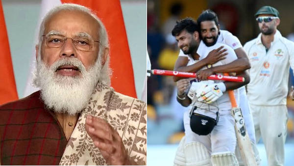PM Modi congratulation indian team after historic win at Gabba