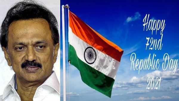 DMK Chief M.K.Stalin greets Indians on the occassion of Republic day