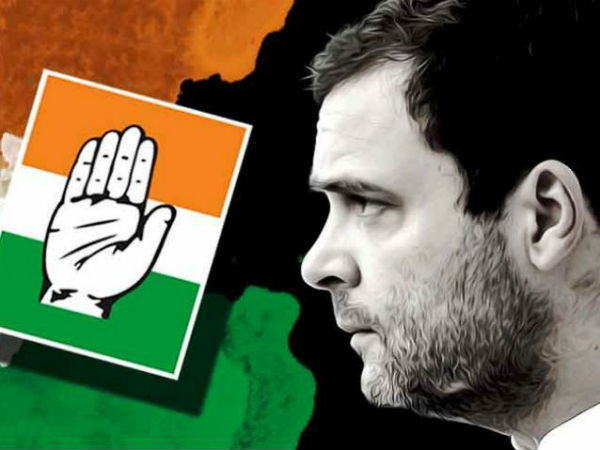 What is the status of the Congress party in the 5 state assembly elections