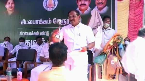 Minister Pandiyarajan accuses Stalin for creating Application