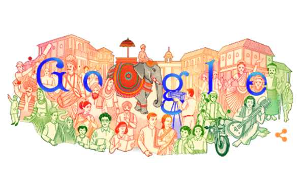 Republic Day Google Doodle: Indias colourful heritage comes alive in todays doodle