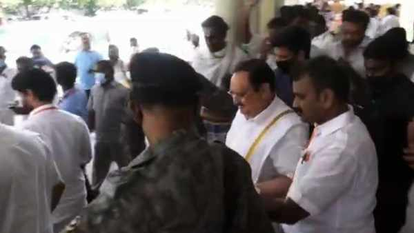 Minister Vijayabaskar who met JB Natta in Madurai - Do you know the reason?  - oceannews2day