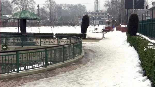 Minus 8.8 Degrees Celsius records in Srinagar