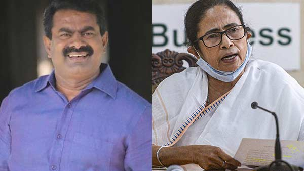 Seeman supports Mamata banerjee in the 4 capitals affairs