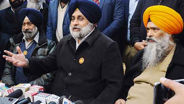 SC's Farm Laws Order a Moral Defeat For BJP : Sukhbir Singh Badal