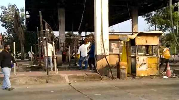 Toll plaza near Chennai vandalised by TVK Cadres