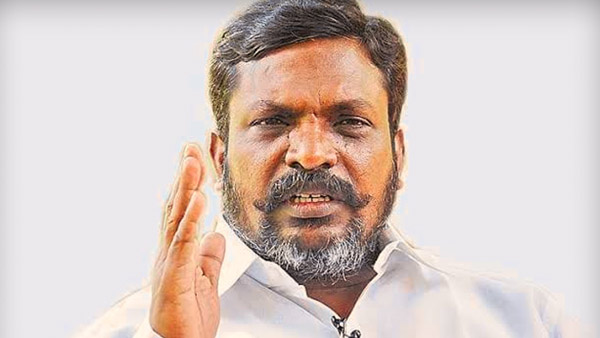 We will never join the BJP, PMK alliance says Thirumavalavan