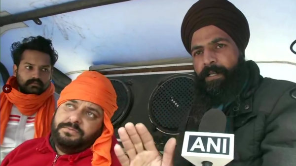Farmers leave from Punjab for Delhi to participate in tractor march on Jan. 26