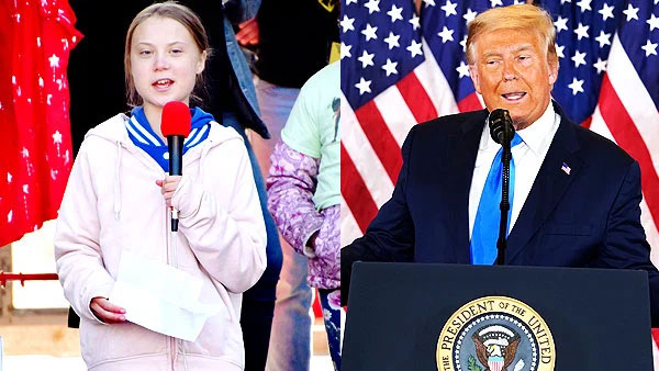 greta thunberg epic reply to donald trump us election