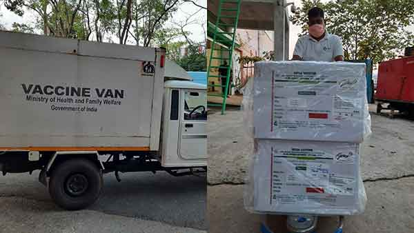 1st batch of Bharat Biotech's Covaxin consignment arrives in Delhi