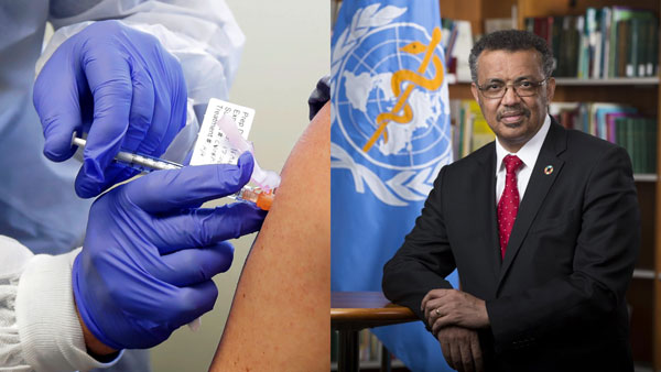 Do Not Panic to take a Vaccine, Says WHO