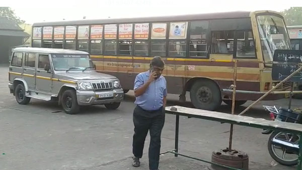 tamilnadu govt bus strike continue 2nd day : people worry