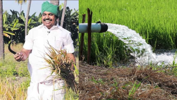 Edappadi Palanisamy says that Three phase supply will be given to farmers