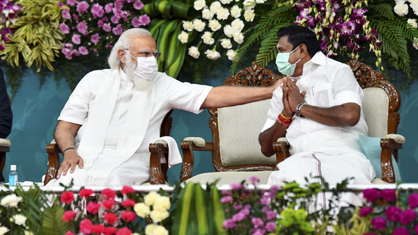 Edappadi Palanisamy has said that PM Modi should give permission for the Godavari-Cauvery river connection project