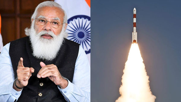 PM Modi congratulates NSIL and ISRO on the success launch of PSLV-C51/Amazonia-1 Mission
