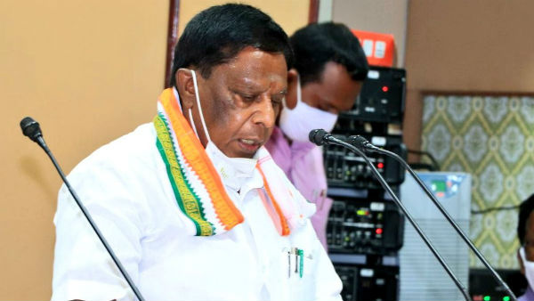 Pudhucherry political crisis: We will not resign Says Narayanasamy