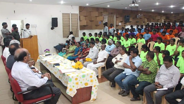 NMS conducts training camp for Police aspirants