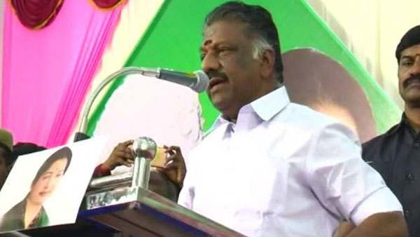 O. Panneer Selvam said that Prime Minister Modi is the treasure trove of innumerable projects