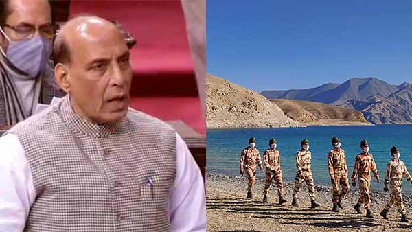 Rajnath Singh says, China will keep its troops to the east of the Finger 8
