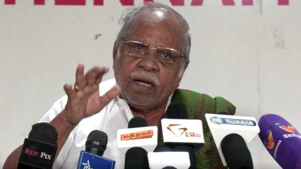 Ex AIADMK Senior leader Trichy Soundararajan opposes AIADMK-BJP Alliance