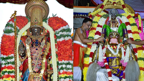 Thiruvallikkeni Parthasarathy Temple Car festival on Tuesday