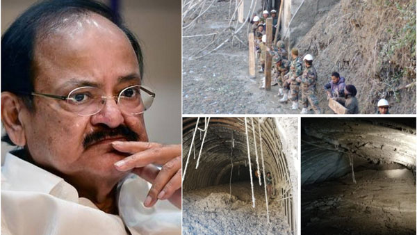 Venkaiah Naidu says Prayers for those trapped in Uttarakhand floods