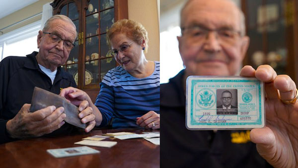 US Navy veteran gets his Wallet, which he lost in Antarctica 53 years ago