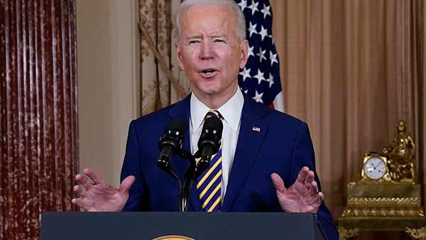 Joe Biden condemns Myanmar bloodshed absolutely outrageous