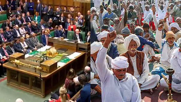 British Parliament to discuss on Farmer Protest in India on March 8