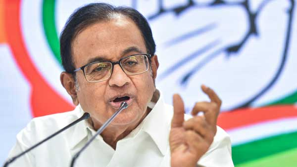 P.Chidambaram about less assembly seats allocated for congress