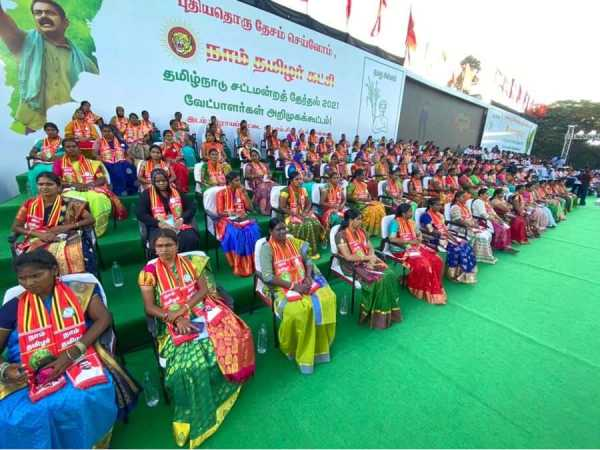 Naam Tamilar Katchi chief Organizer seeman contesting in Tiruvottriyur assembly constituency