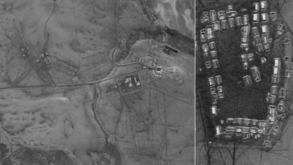 Night-time satellite images show Chinese buildup in Depsang