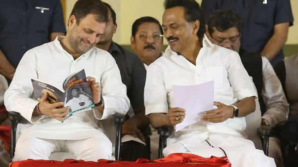 M.K.Stalin and Rahul Gandhi to participate in joint campaign on March 28