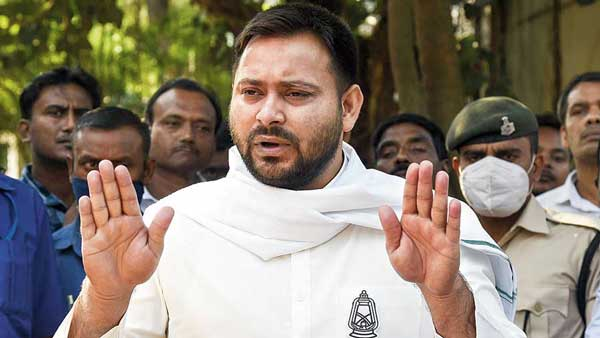 Nazi Government Tejashwi Yadav slams BJP government