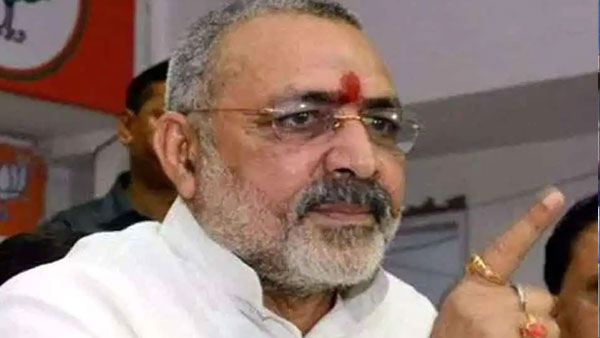 Union Minister Giriraj Singh Says Beat Up Officials If they dont listen