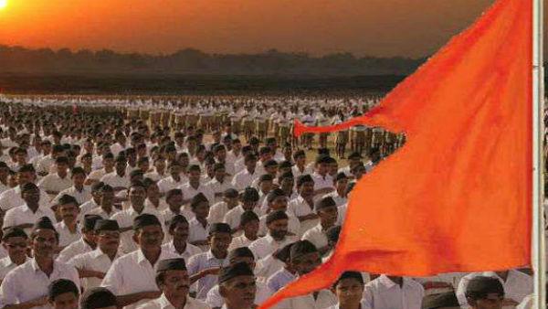 கும்பமேளாவில் சிறப்பு போலீசாகவே...  மாறிய ஆர்எஸ்எஸ் அமைப்பினர்.. ஐடி கார்டும் வழங்கப்பட்டது