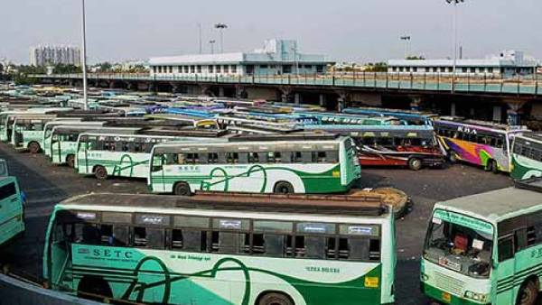 Night Lockdown: Buses all run during the day - TN Government Transport corporation