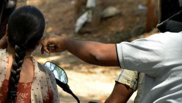 பல்லாவரத்தில் கர்ப்பிணியை தரதரவென இழுத்து சென்று செயின் பறிப்பு.. இரு கொள்ளையர்கள் கைது